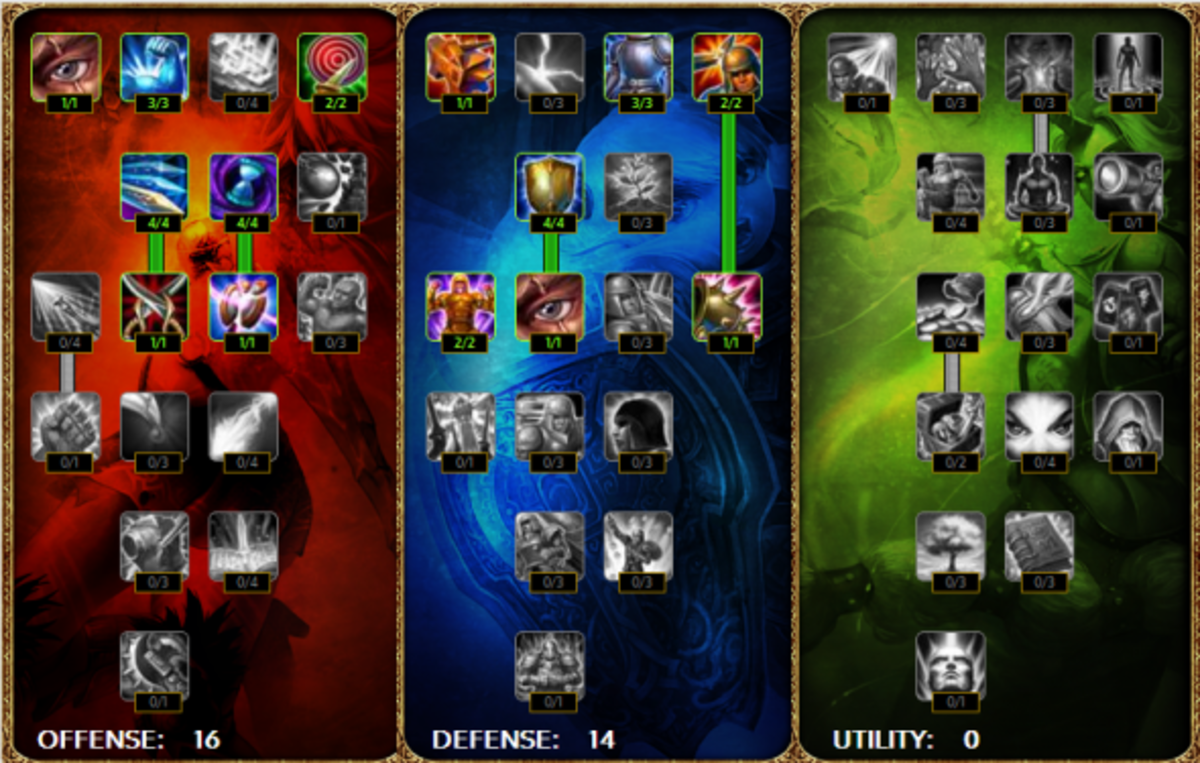 Jungle Evelynn Masteries