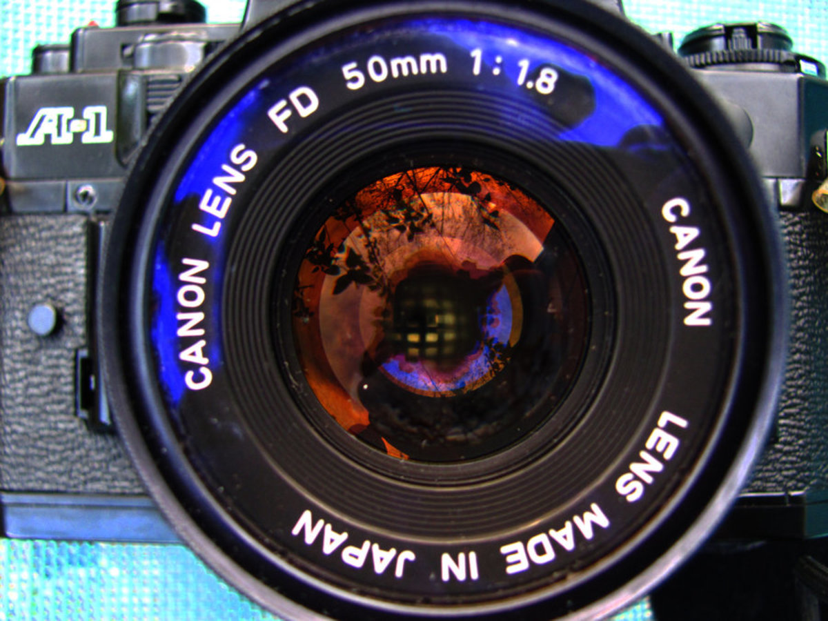 Description and Use of Photographic Lenses