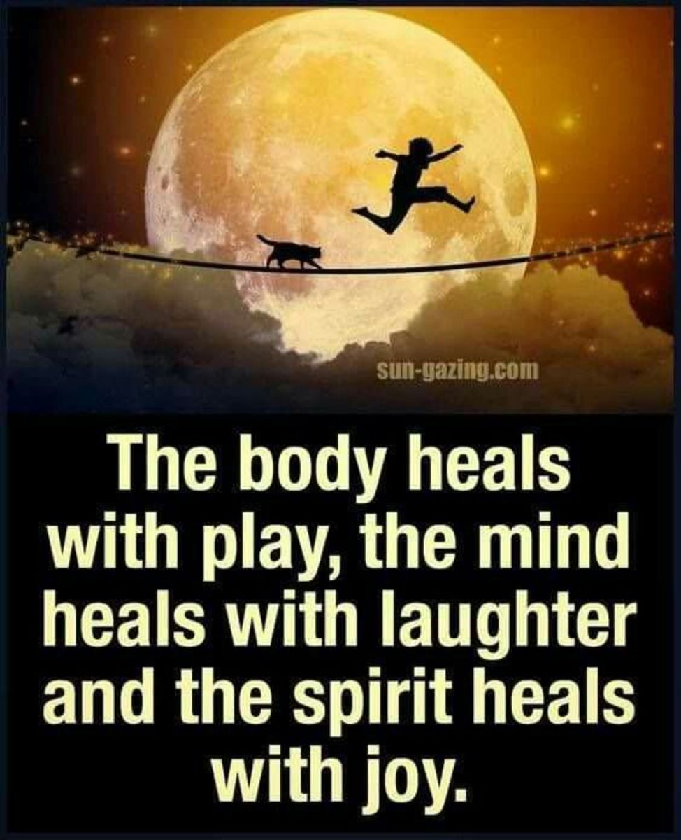 Laughter heals the body
