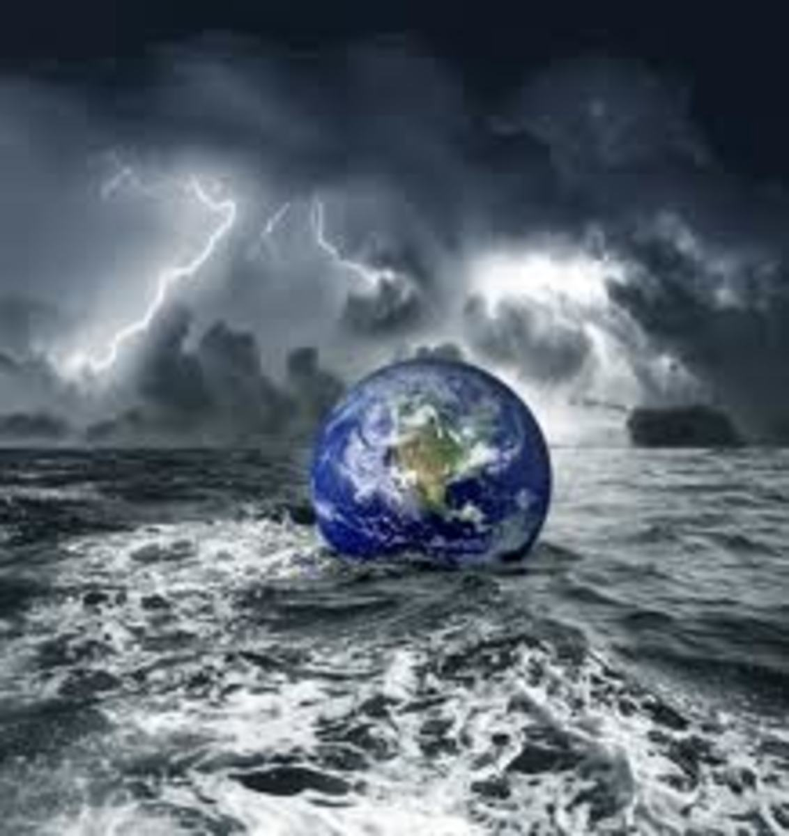 Was the universal flood a real event, or it was much smaller and affected only those part of the world where Noah was?