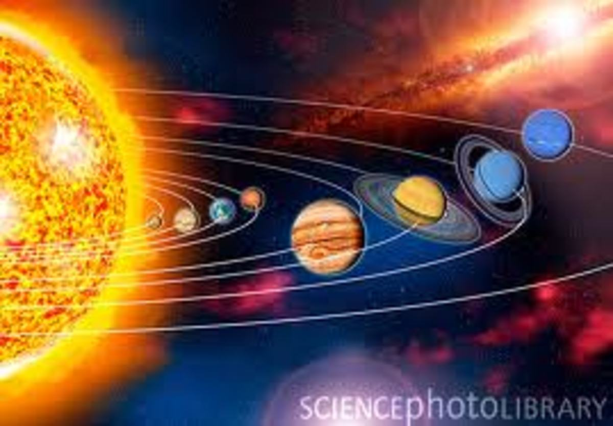 The solar system orbit around the center of our Milky Way galaxy with all its planet and their satellites that orbit around the sun all together. They seem to form a never ending cycle that will go on forever.