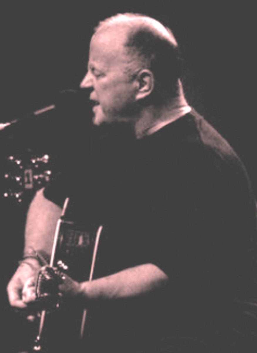 Christy Moore is a legend of Irish folk music, but not nearly as famous as he deserves outside the island.