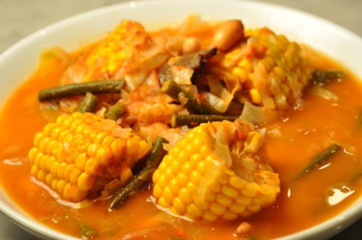 "Indonesian Sour Vegetable ""Soup"" Image:  Siu Ling Hui"