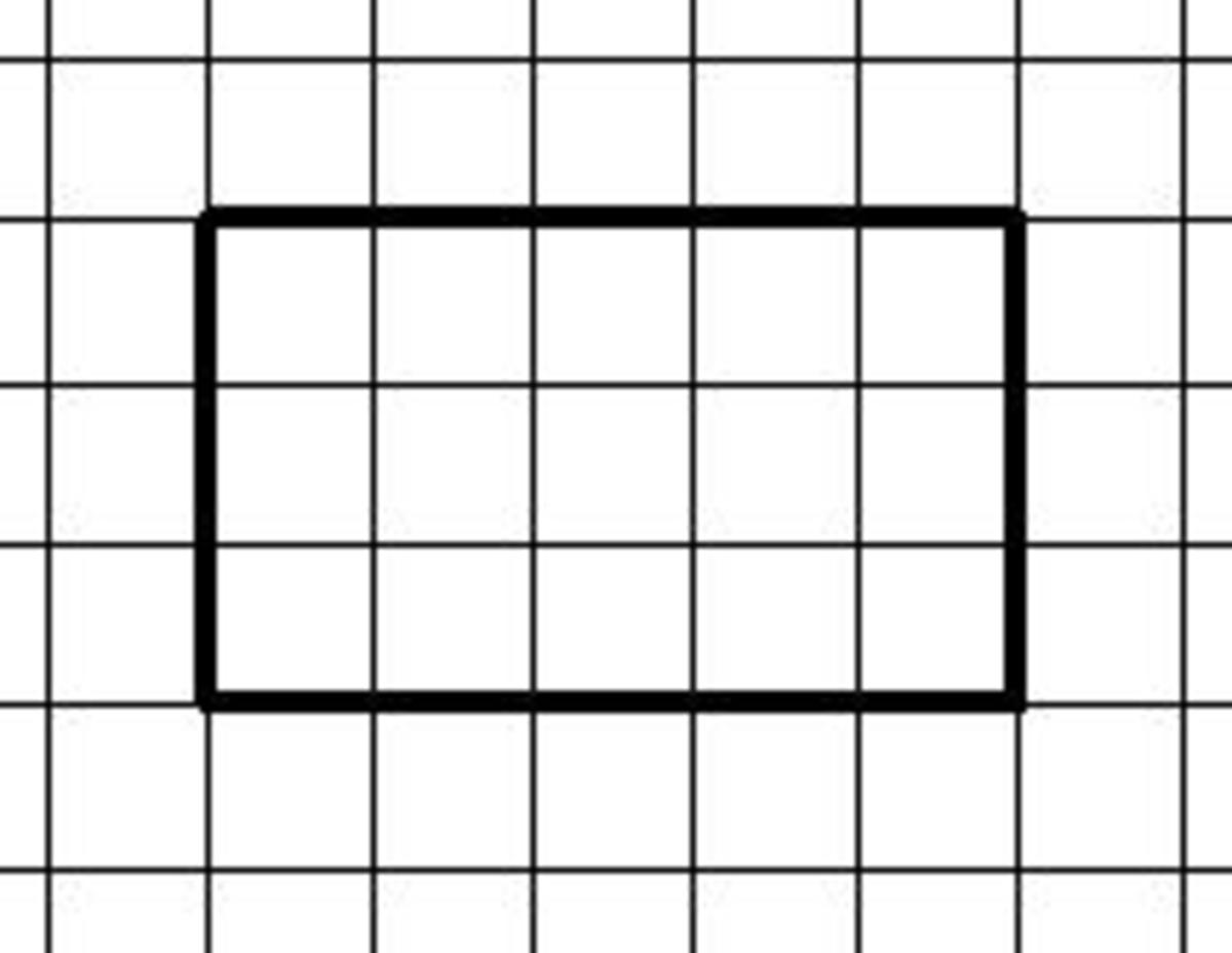 How to find the area of shape by counting the squares (Year 6 maths)