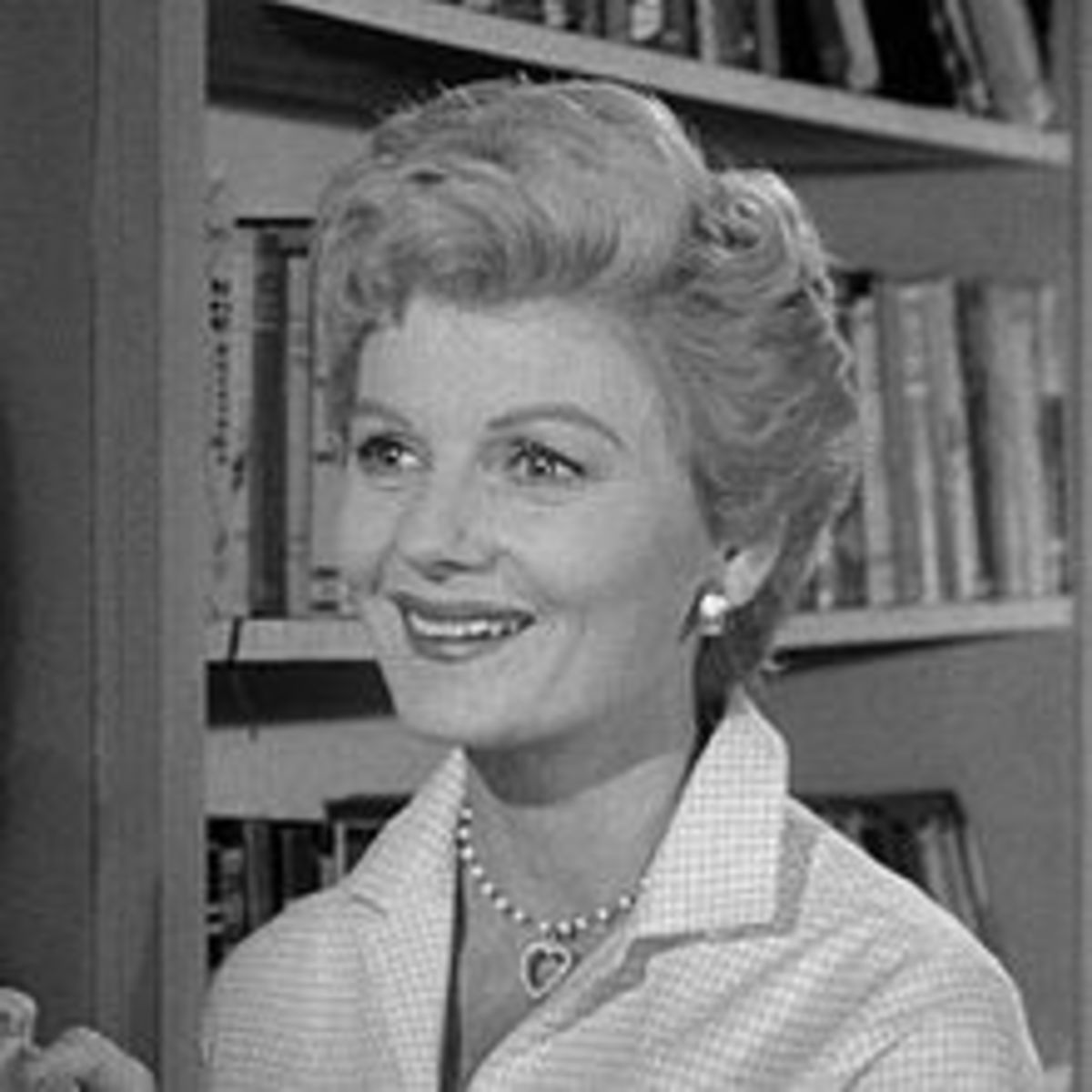 "Barbara Billingsley, who played June Cleaver on the popular 1950s TV series, ""Leave it to Beaver"""