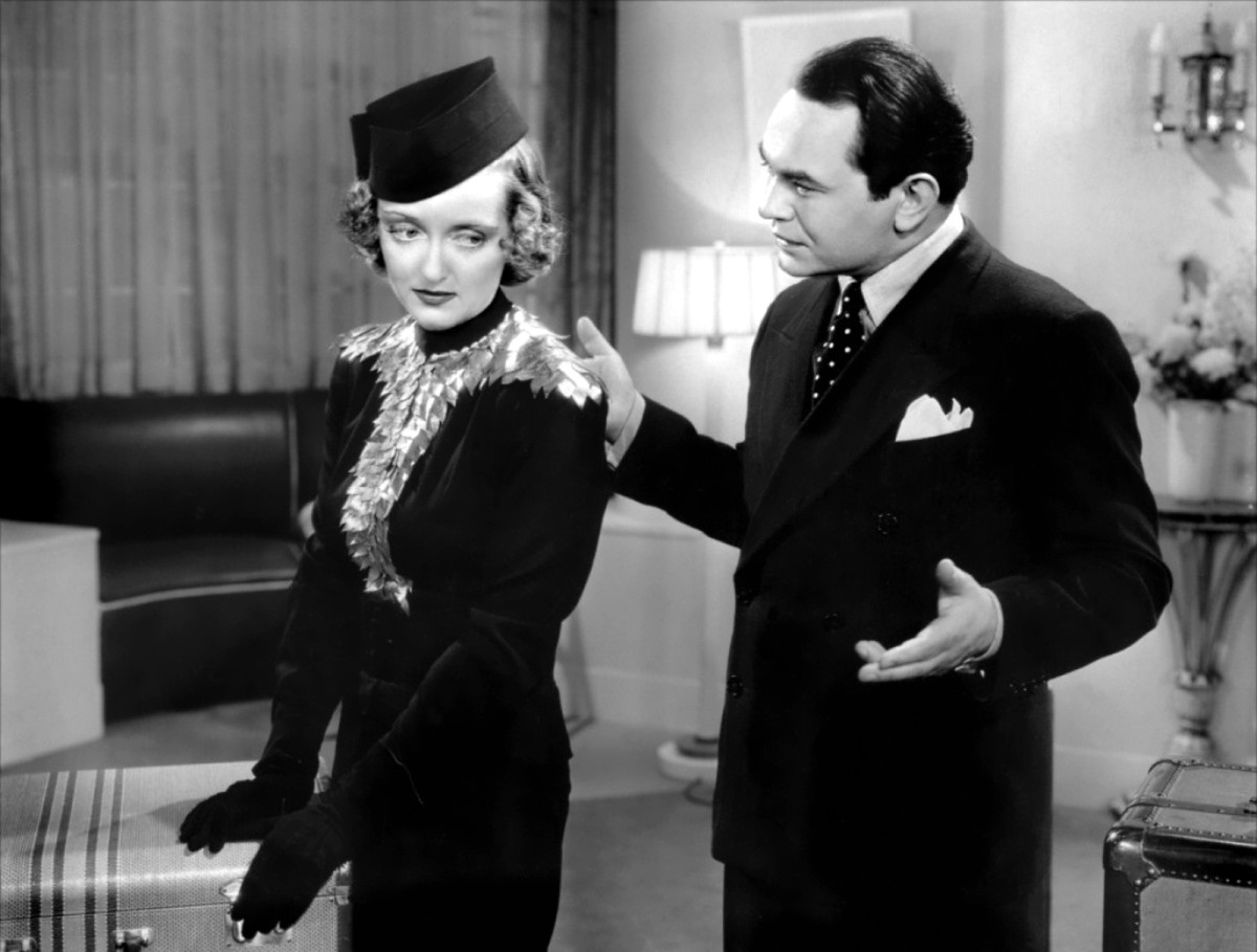Davis with Edward G. Robinson