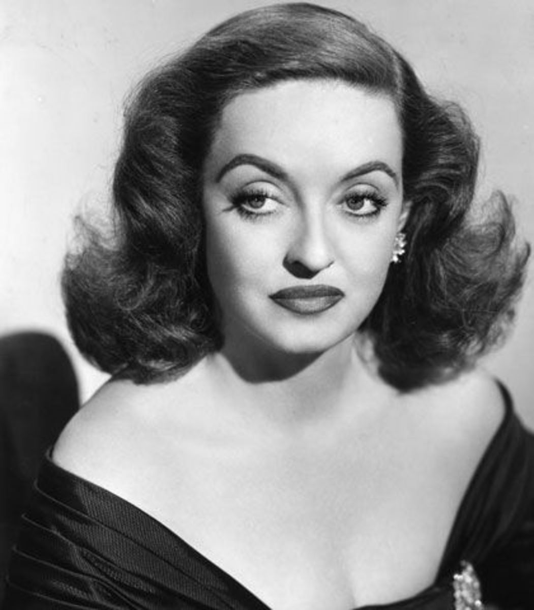 """Bette Davis in """"All About Eve"""" (1950)"""