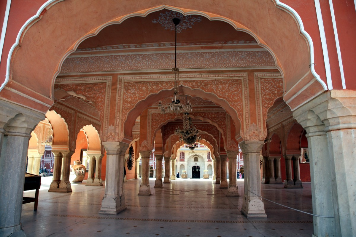 Diwan-i-Khas at the City Palace in Jaipur