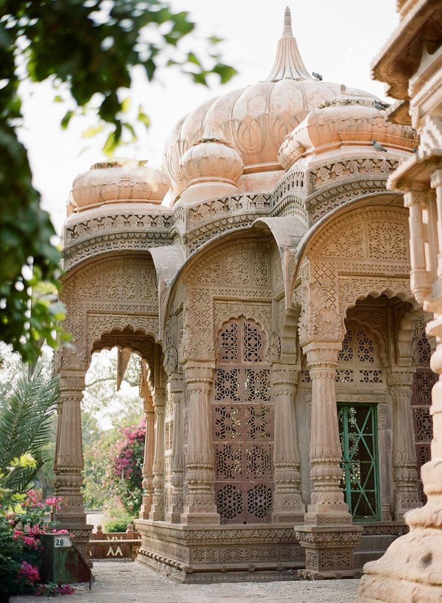 Mandore Gardens, outside Jodhpur, Rajasthan, Indian