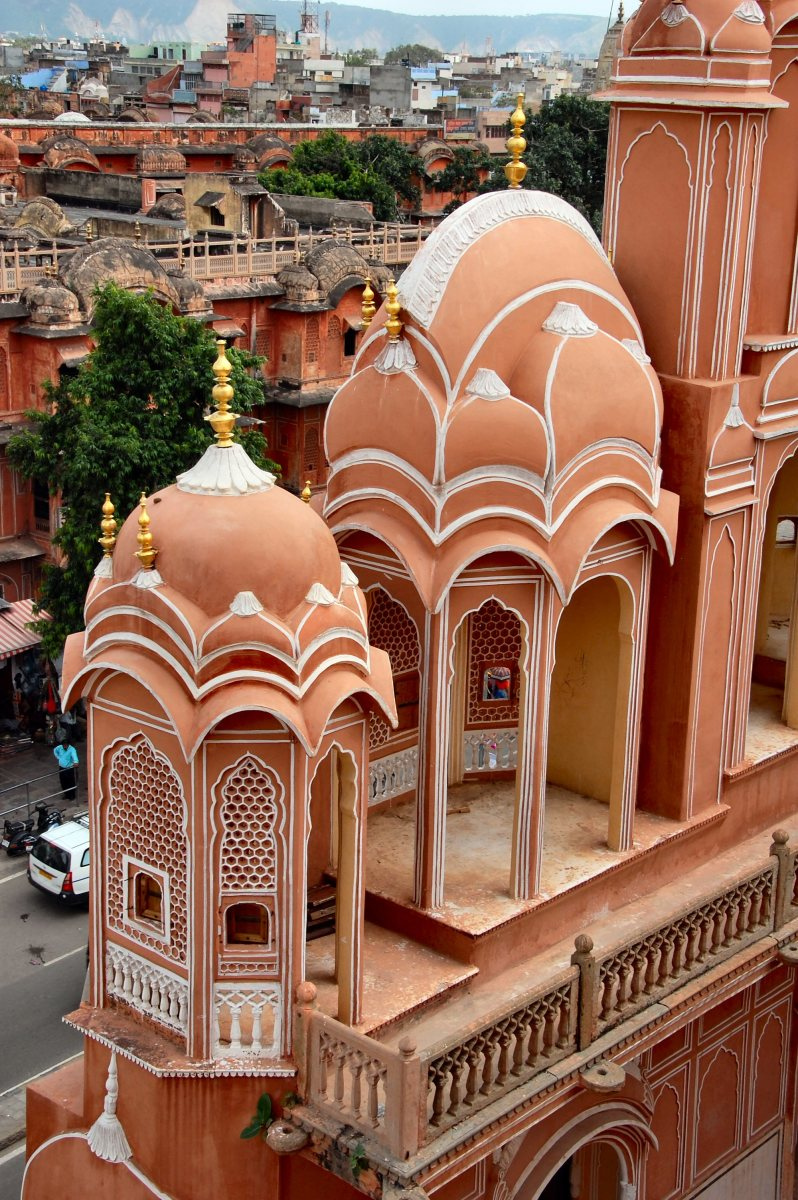 The Hawa Mahal in Jaipur, Rajasthan, India