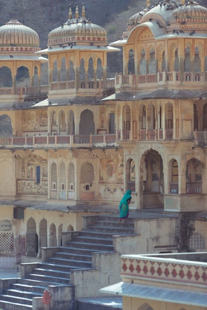 The steps to Monkey Palace
