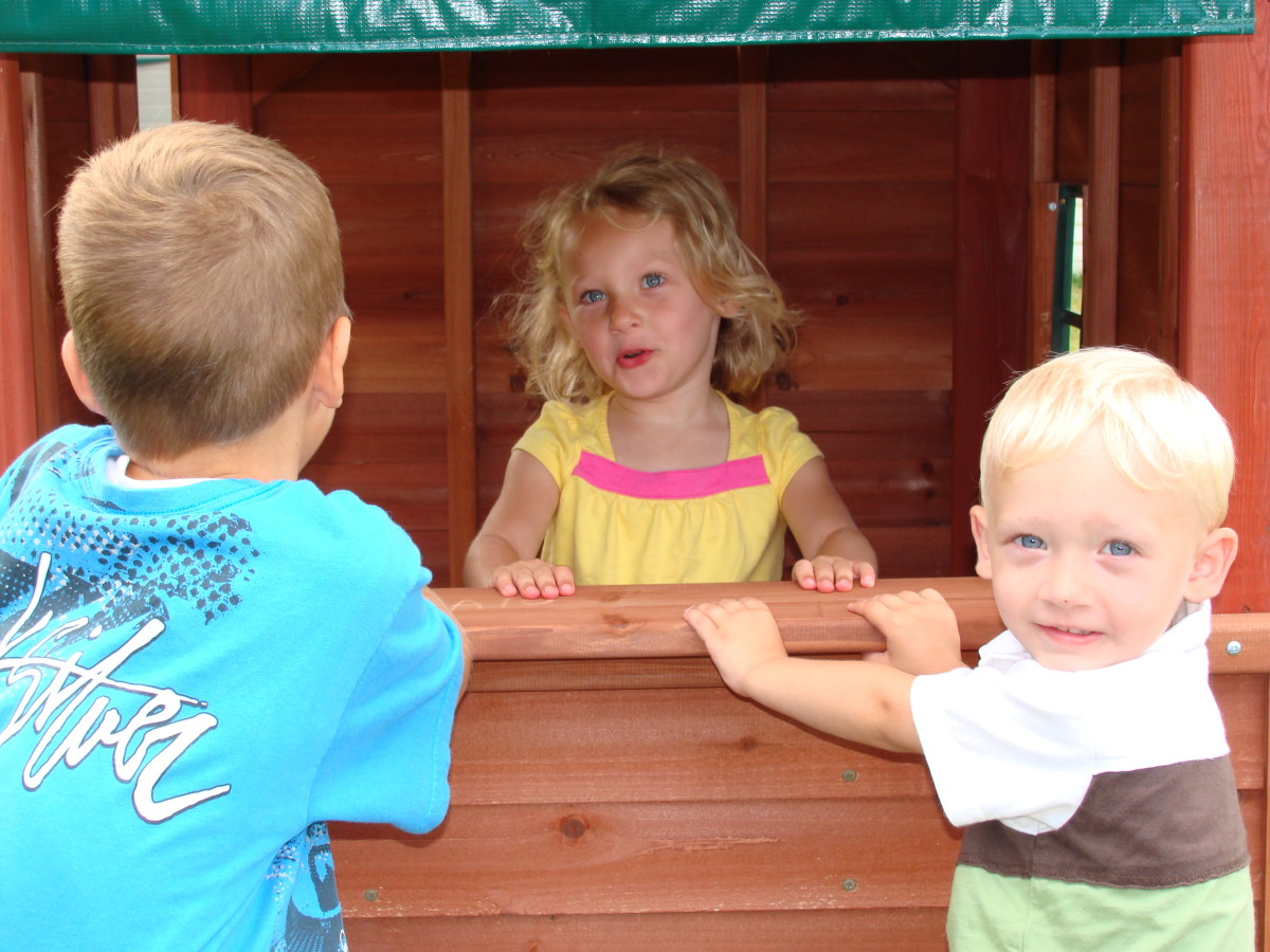 Wooden Swing Set vs. Plastic Swing Set:  Choosing the Best Outdoor Playset for Your Family