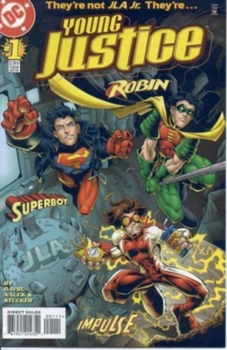 Young Justice in the Comics