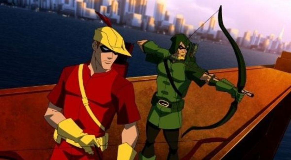 Green Arrow and Speedy