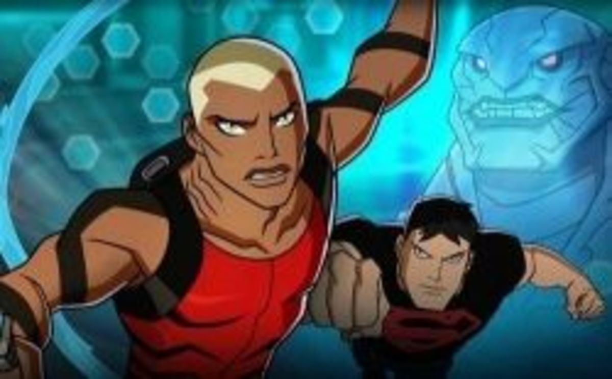 Aqualad and Superboy