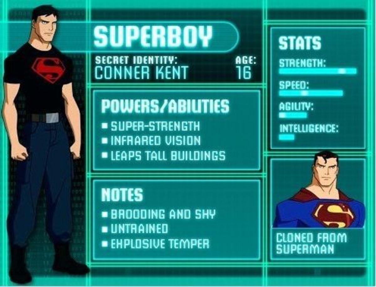 Superboy - Conner Kent