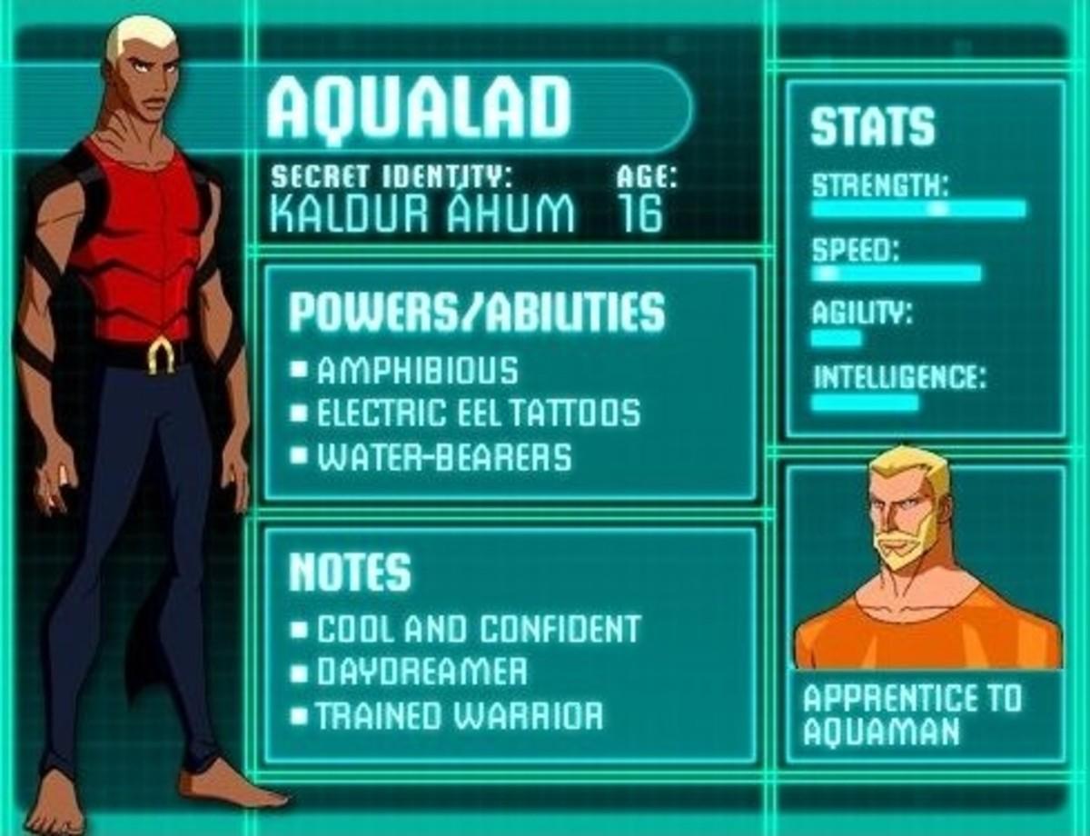 Aqualad - Kaldur 'Ahum