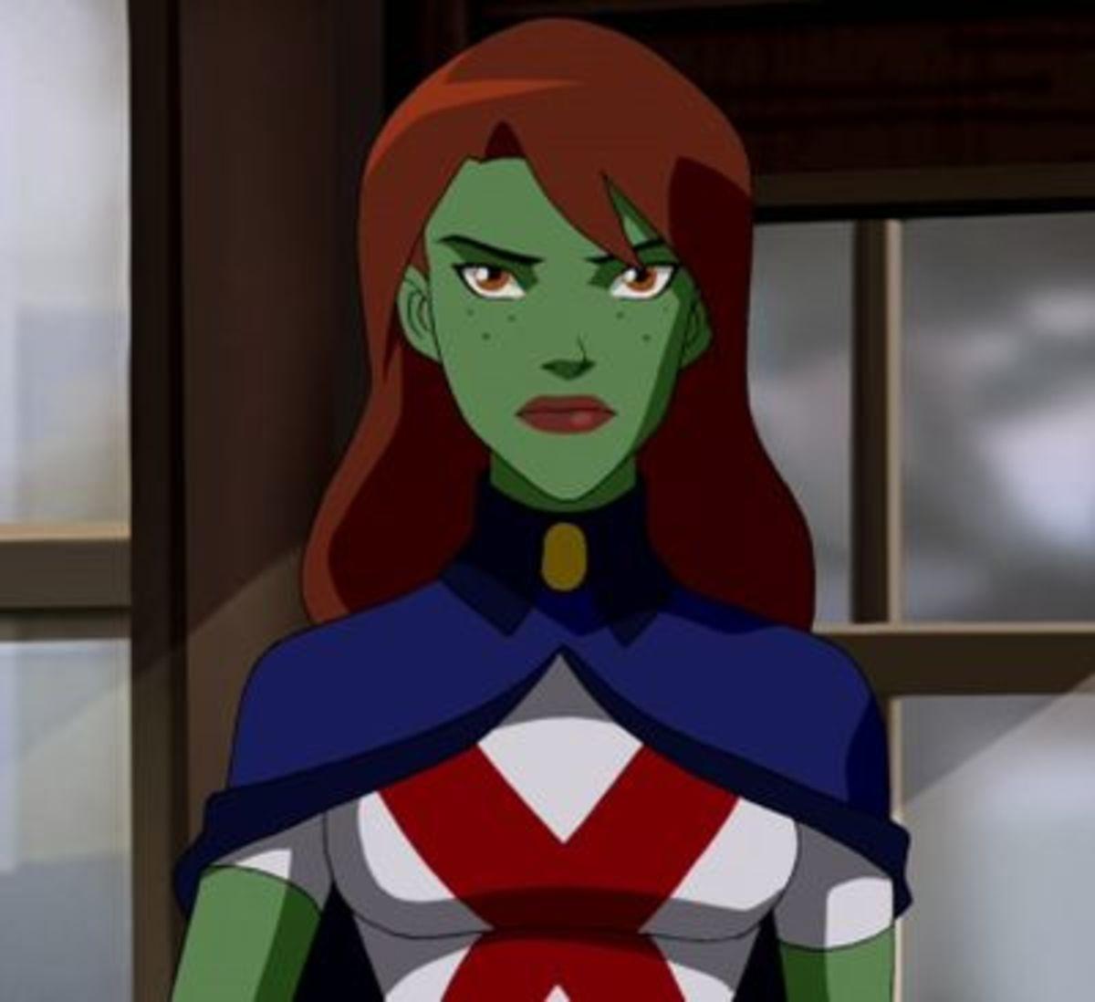 Miss Martian - M'gann M'orzz