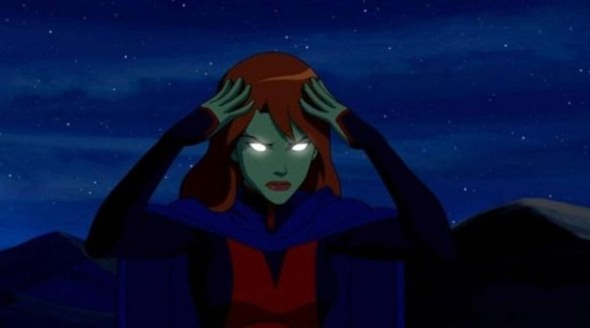 Miss Martian mental link up