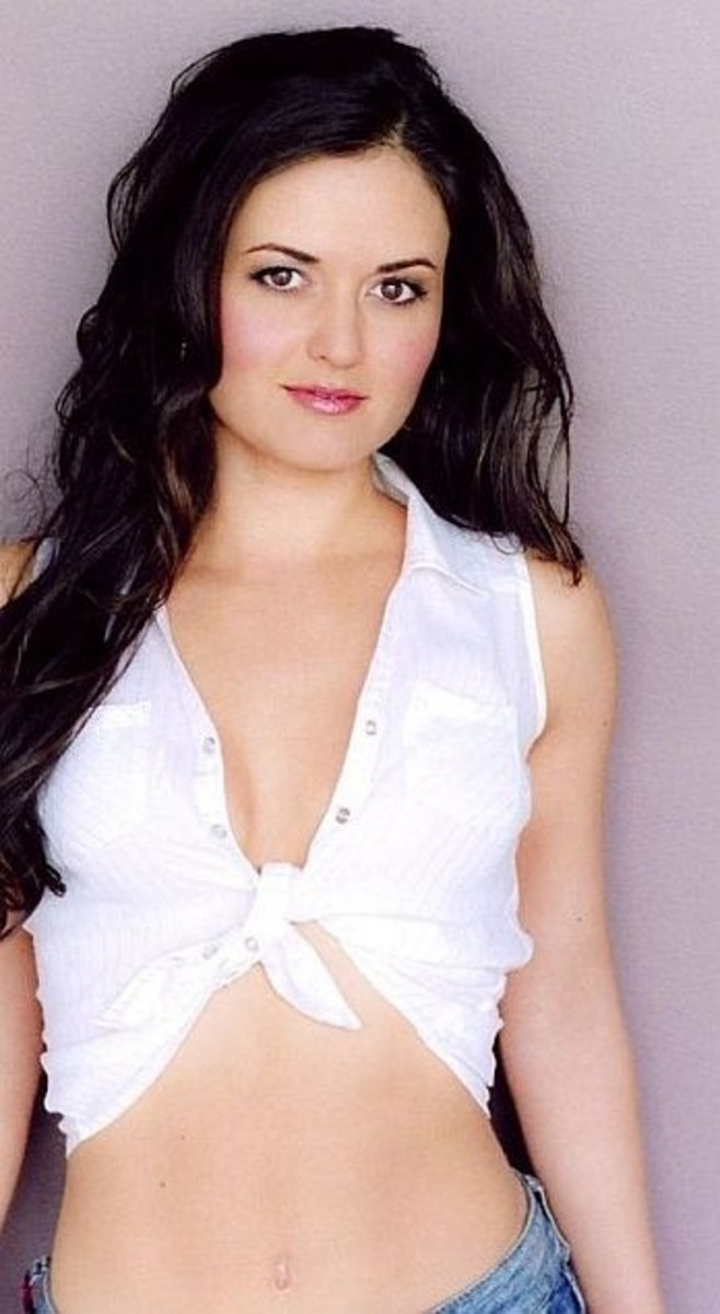 Danica McKellar as Miss Martian (Hellllo Megan!)