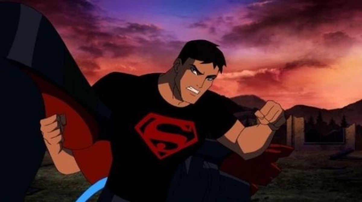 Superboy gets angry
