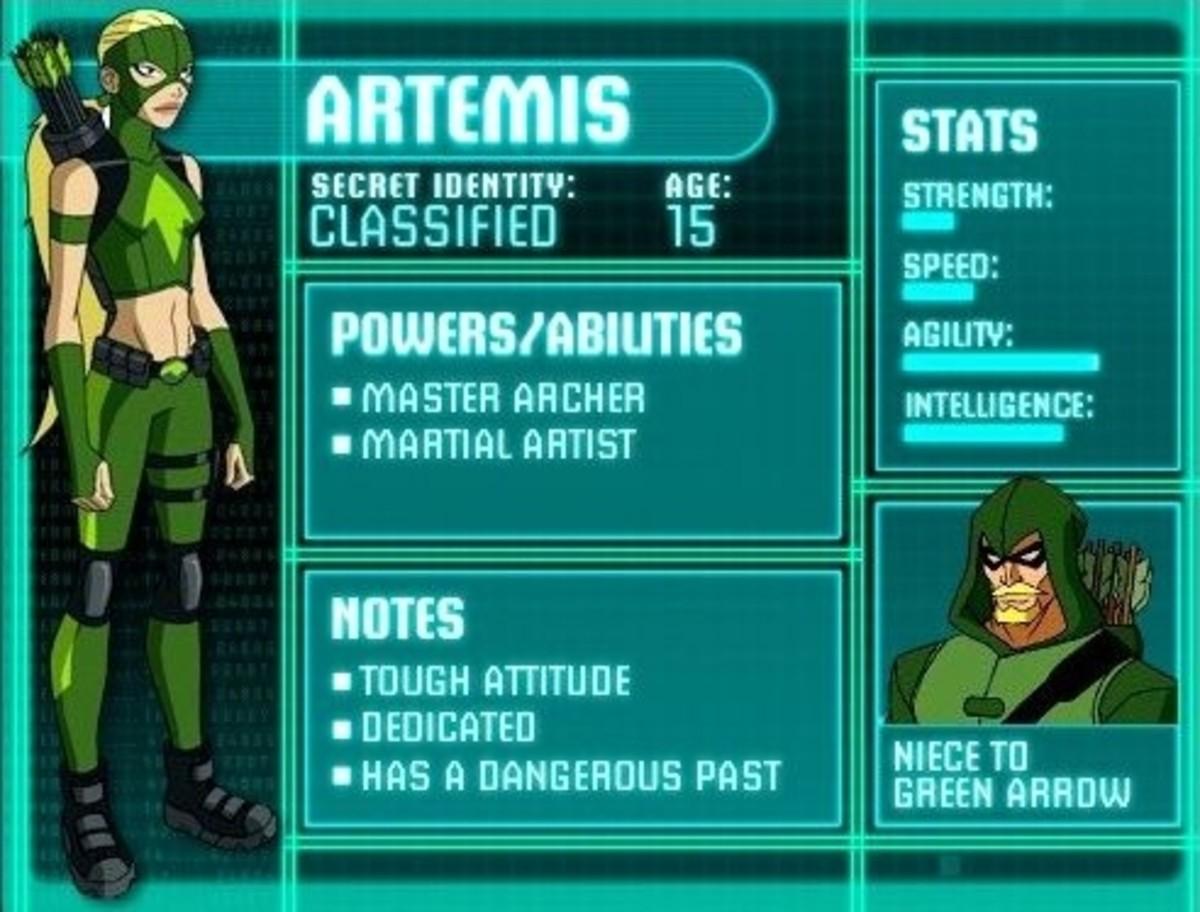 Artemis - Artemis Crock