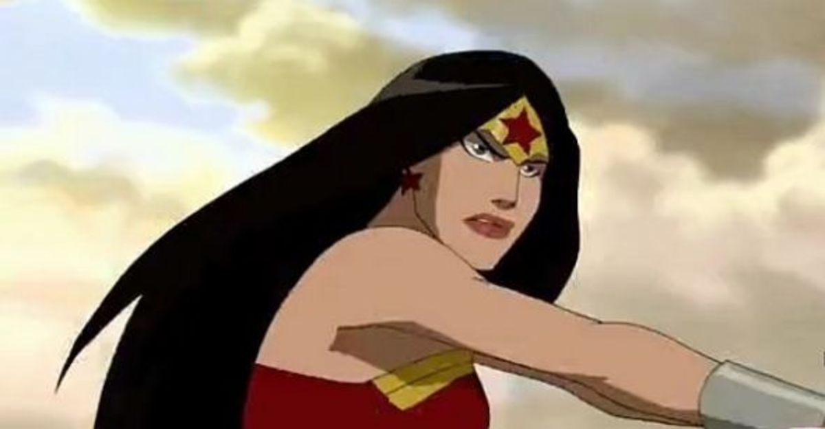 Wonder Woman - Young Justice