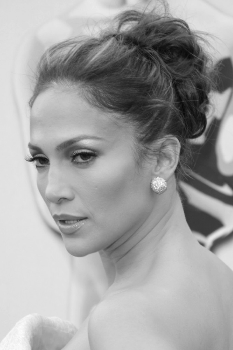 Jennifer Lopez, formal messy sexy new hairstyle - Long Hairstyles 2013 Hair Styles