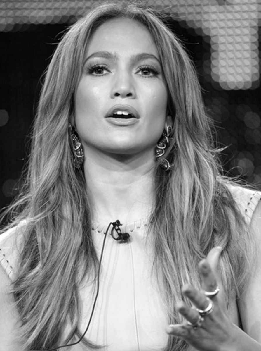 Jennifer Lopez, casual hairstyle - Long Hairstyles 2013 Hair Styles