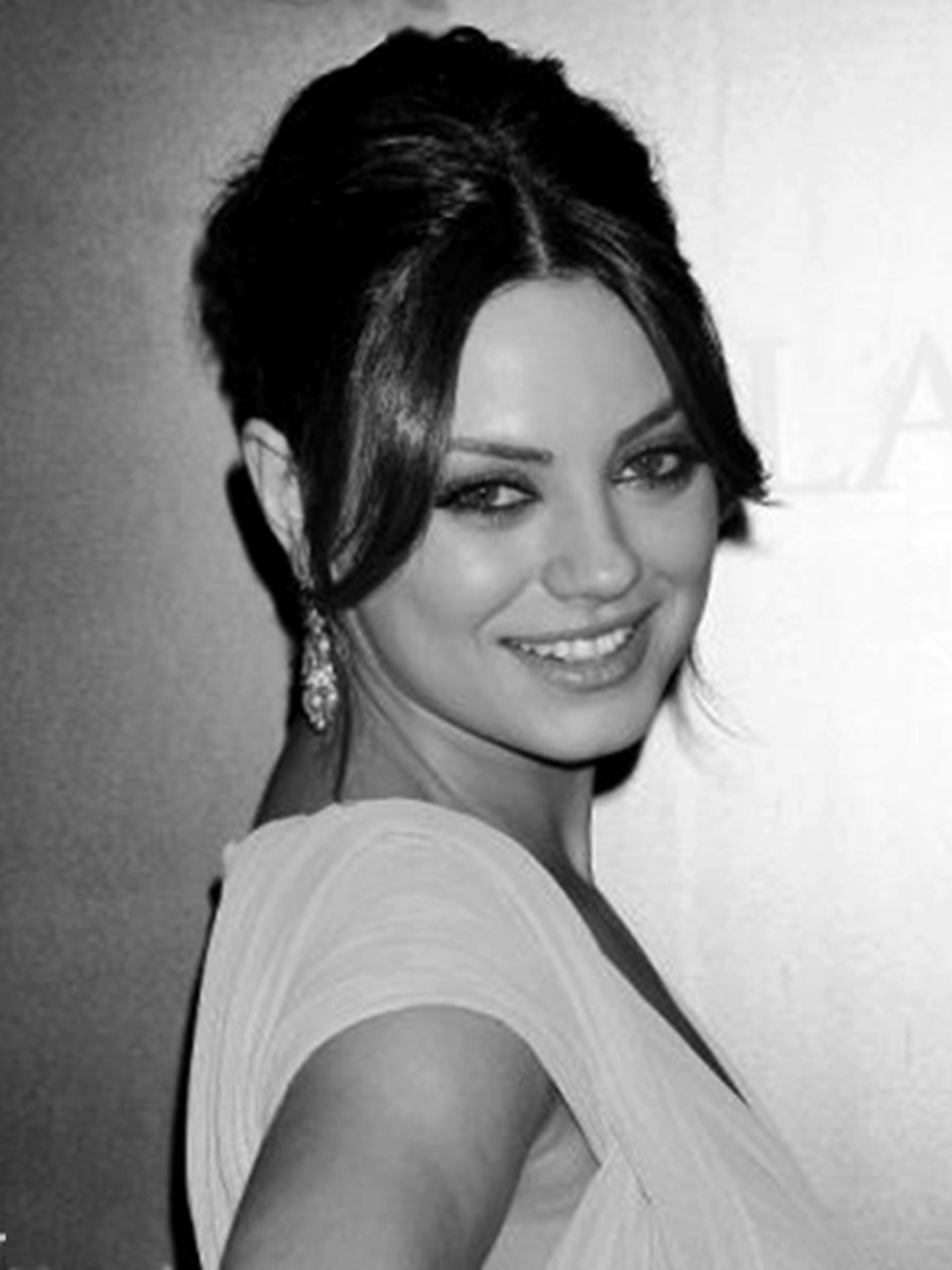 Mila Kunis, formal hairstyle -  2013 Hairstyles for long hair