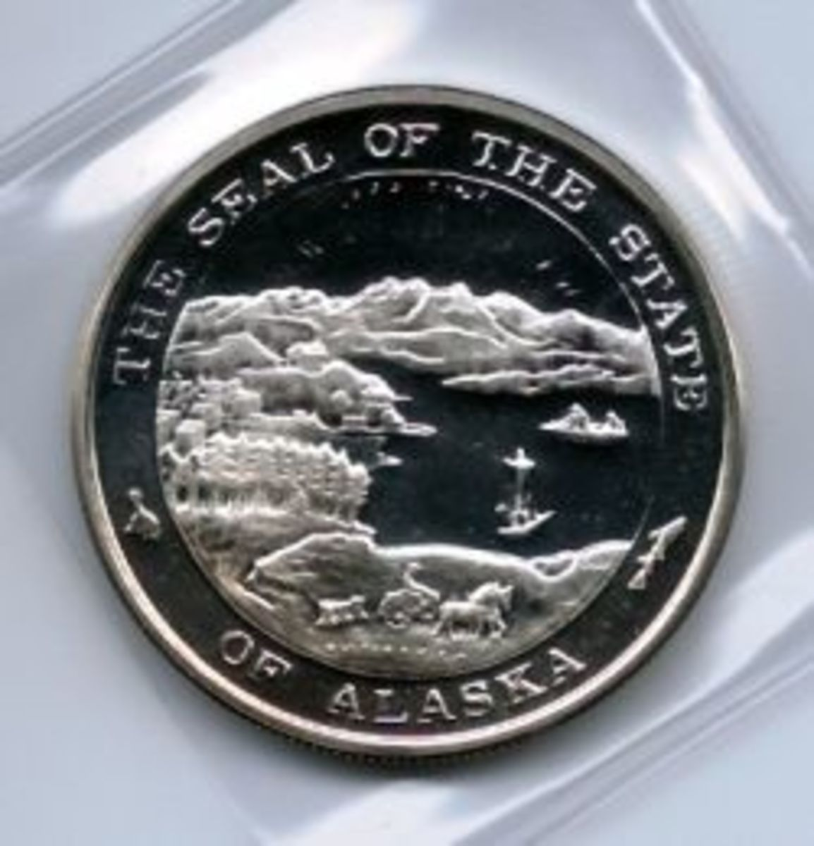 Official Alaska State Medallions