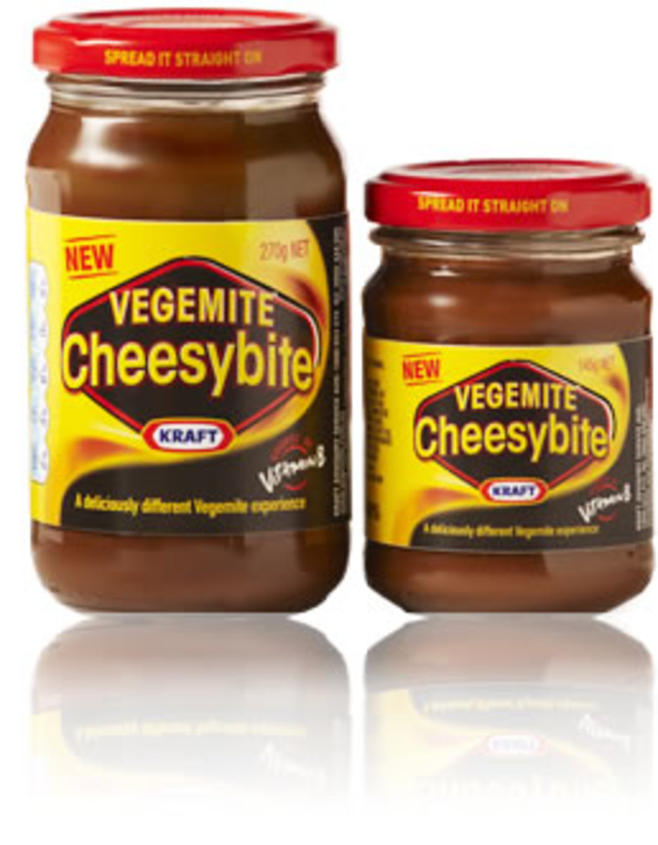 Vegemite Cheesybite - released in June 2009