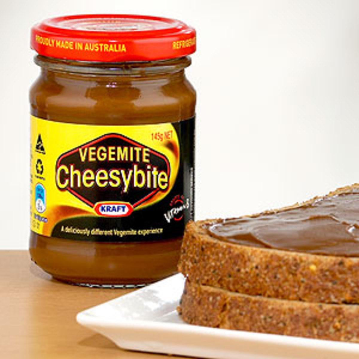 It spreads more easily and it is nowhere near as strong as original Vegemite so you can use much more on your bread.