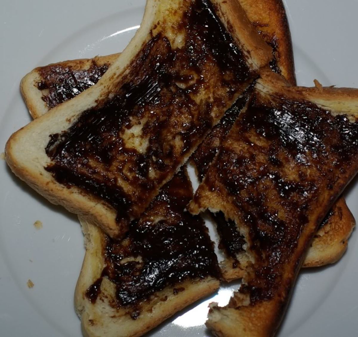 Far too much Vegemite