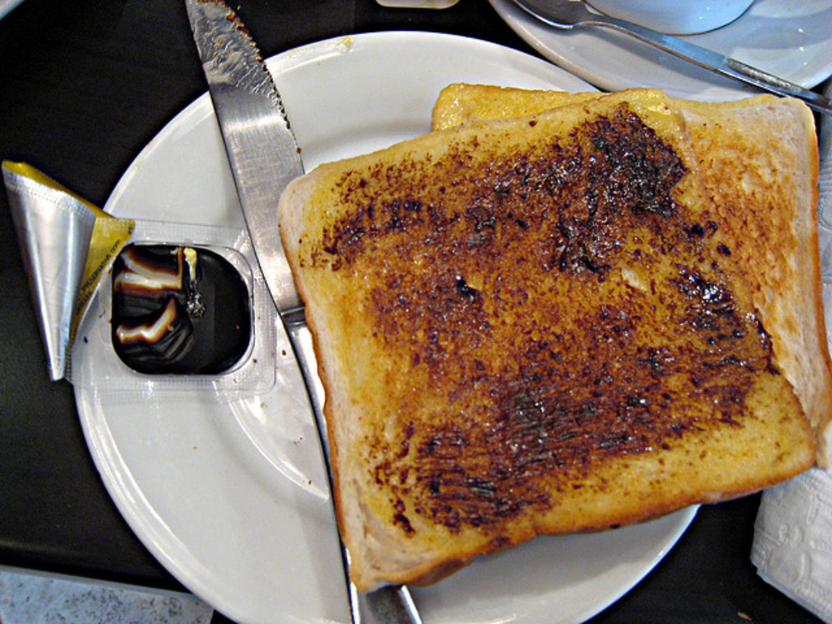 Just the right amount of Vegemite