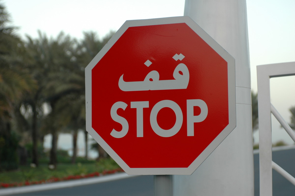 Stop and think before you do something that might be illegal in Dubai