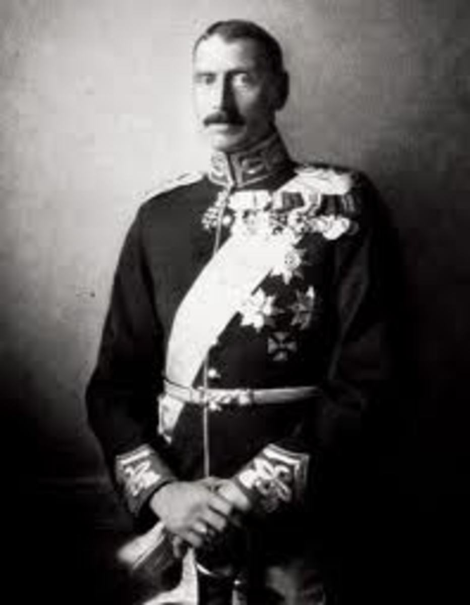 King Christian X of Denmark.