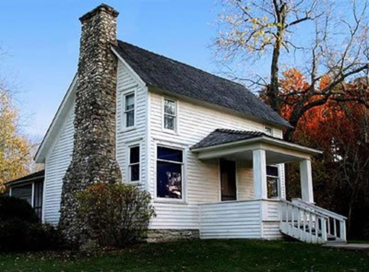 Laura Ingalls Wilder and Almanzo Wilder's home.