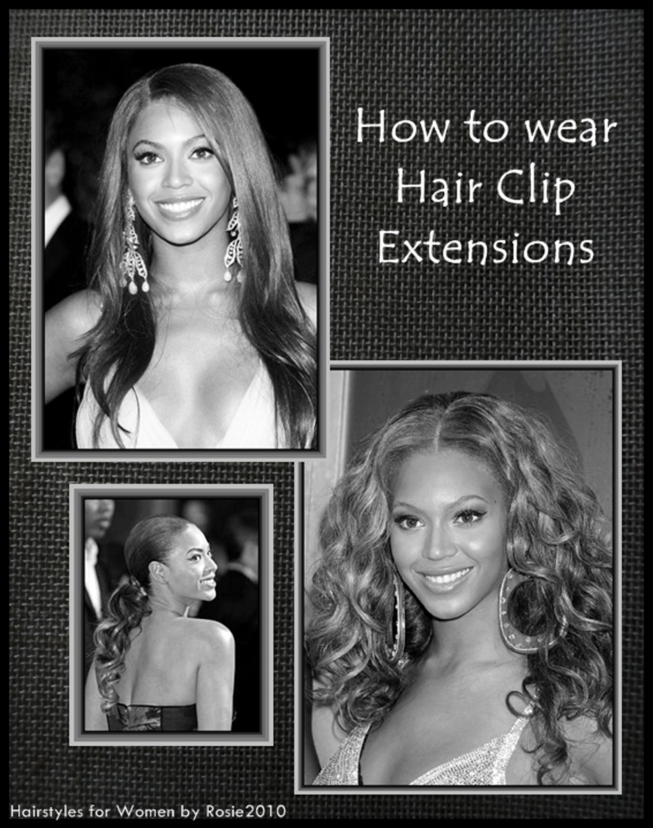 - Beyonce wearing hair extensions - 2013 Hairstyles for Women - How to wear hair clip extensions, by Rosie2010 -