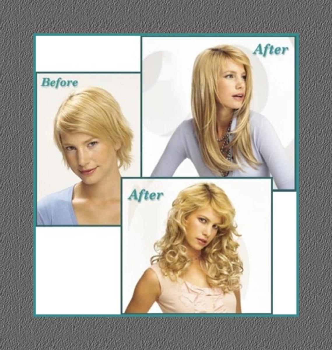 Hair Clip Extensions For Short Hair Hair Extensions Clip Hair