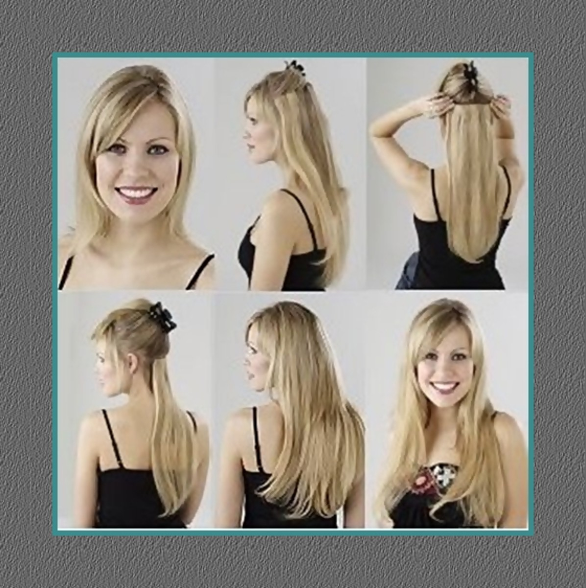 Human Hair Clip Hair Extensions - 2013 Hairstyles for Women - How to wear hair clip extensions, by Rosie2010