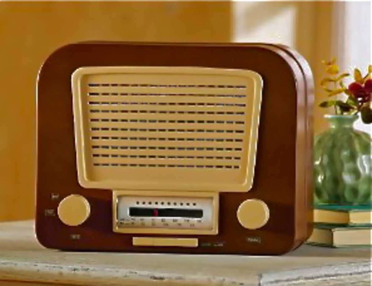 Am/Fm Old Fashioned Radio Hideaway Safe by Collections