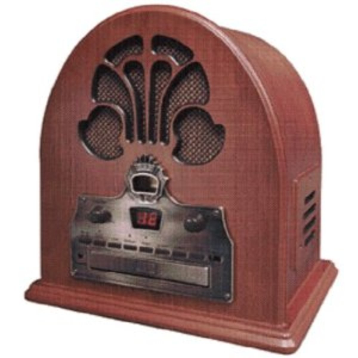 Crosley CR32 CD Cathedral Radio with CD