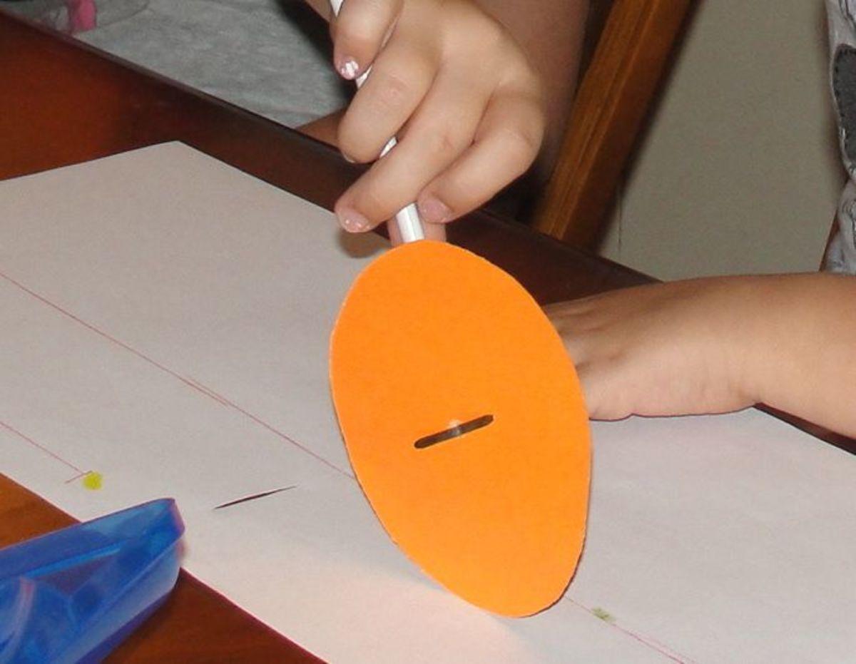 Making a surveyor's wheel