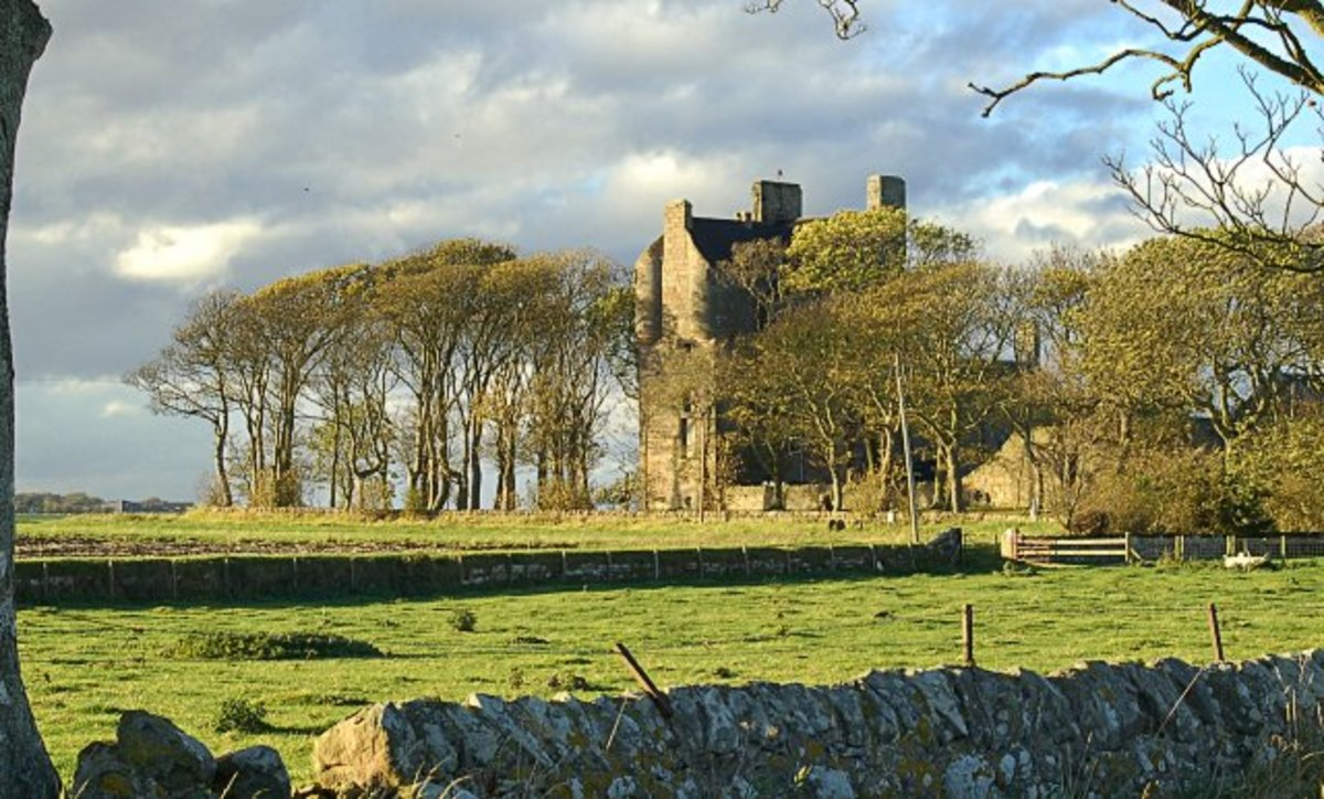 Balcomie Castle, Fife.
