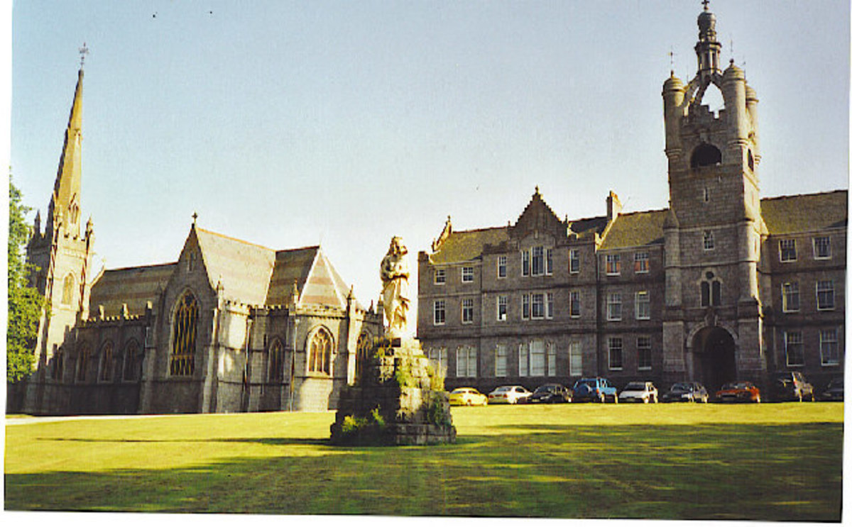 Blairs College, St. Andrews University - one of the older buildings belonging to the university.