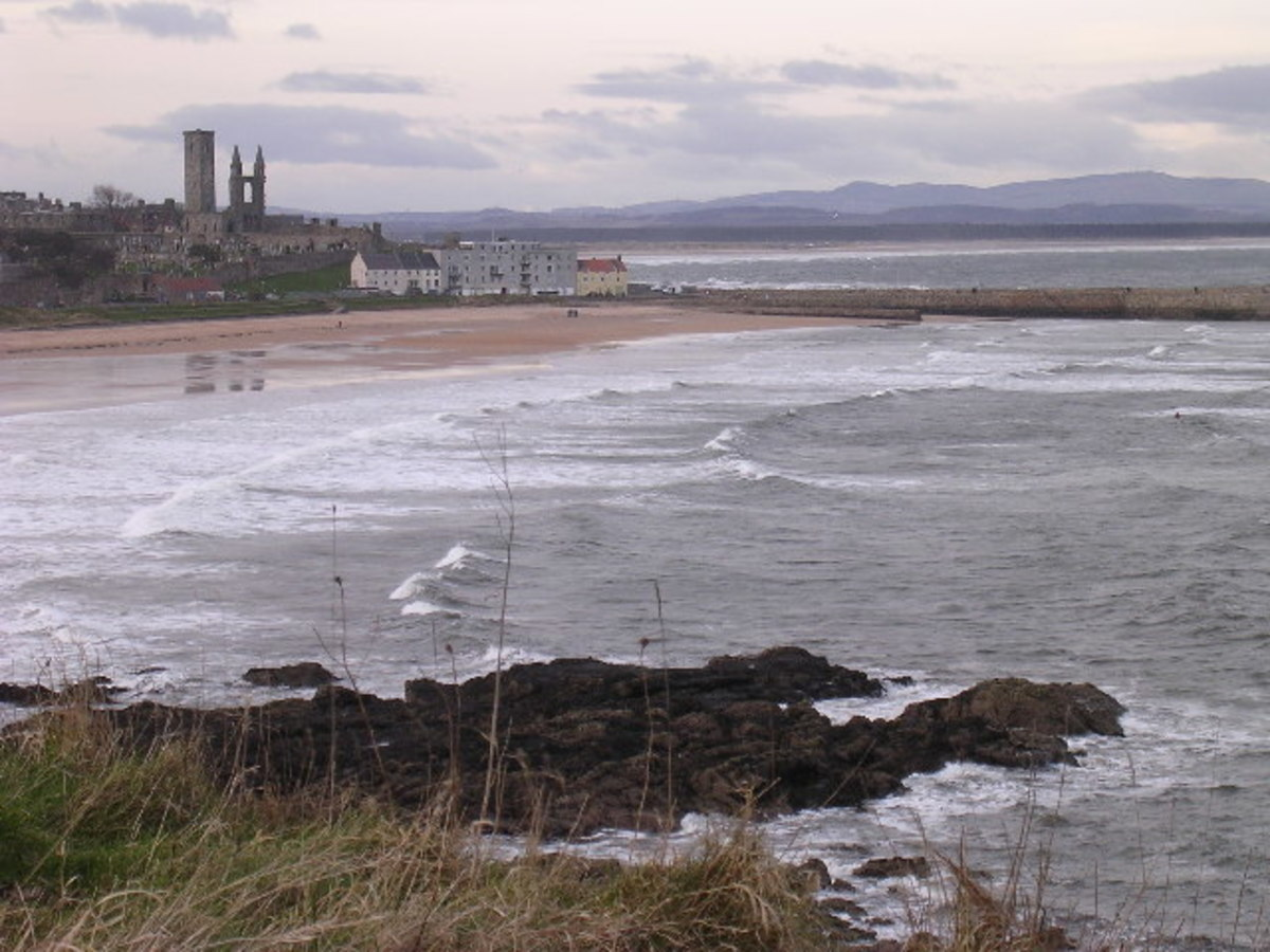 Fife has a very dramatic and beautiful coastline.