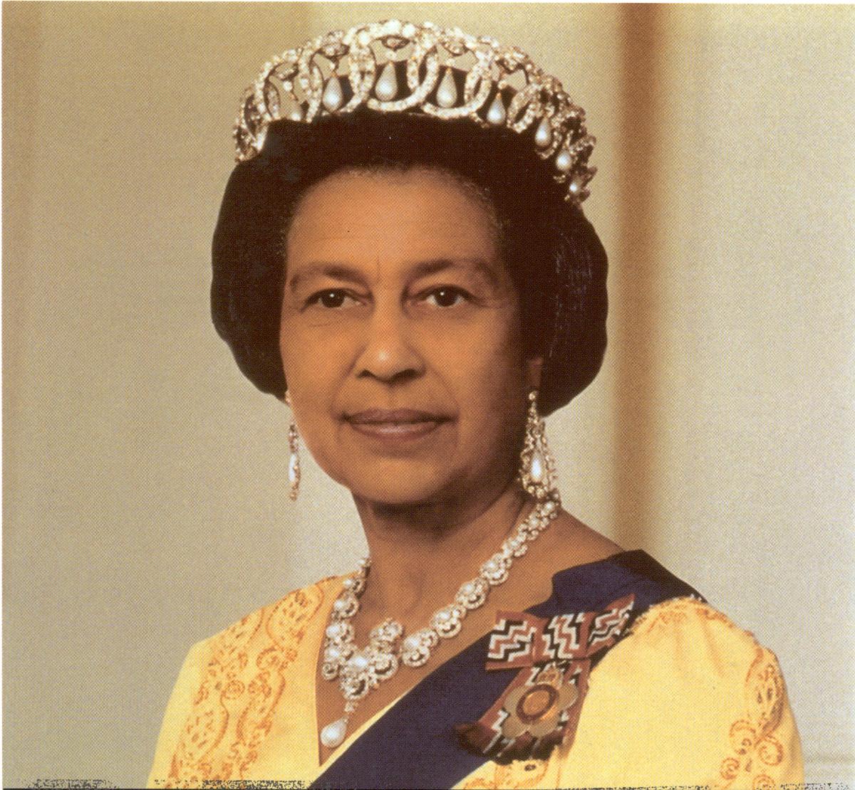 Queen Elizabeth II as she actually is