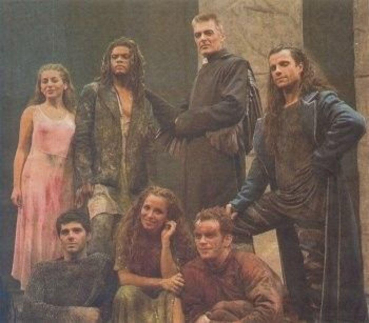 Notre Dame de Paris cast