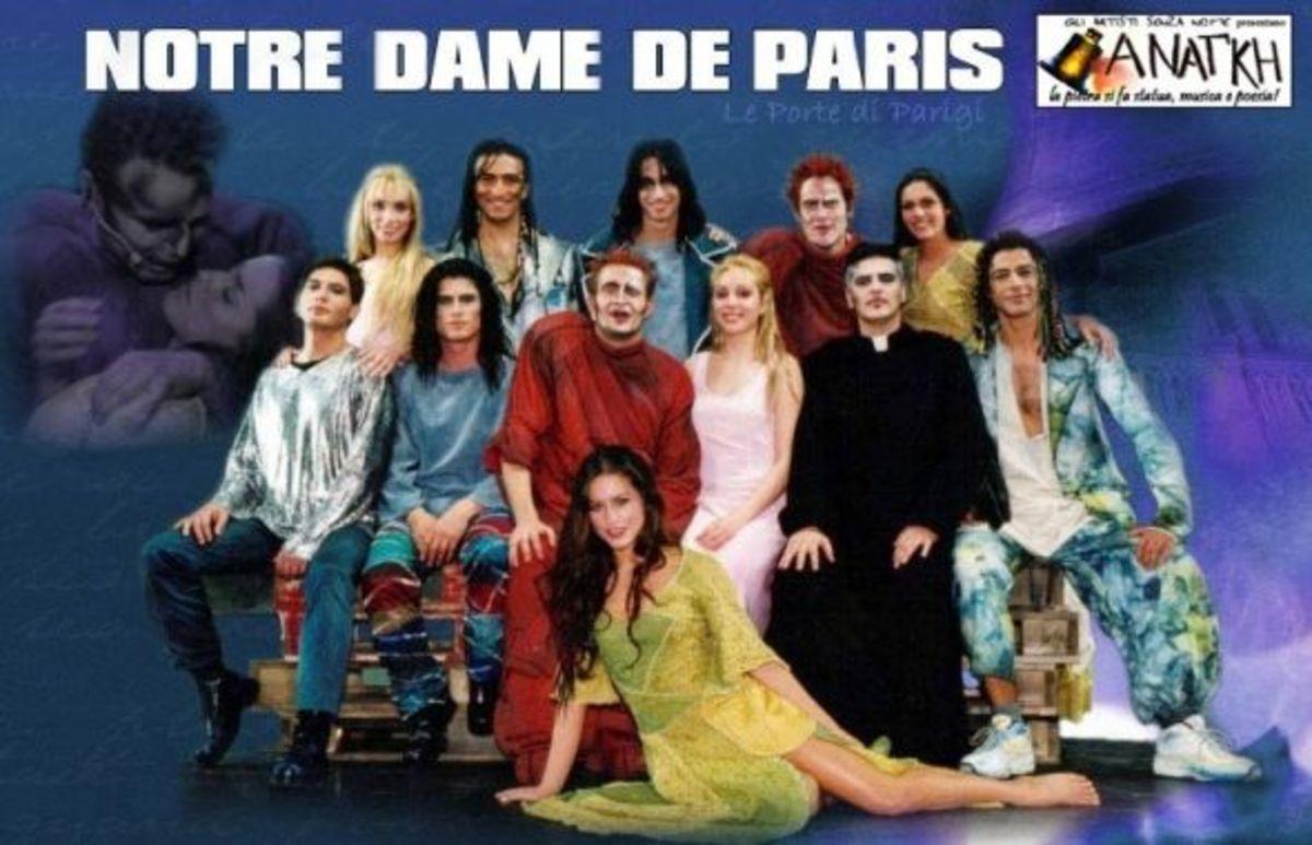 Italian Cast of Notre Dame de Paris
